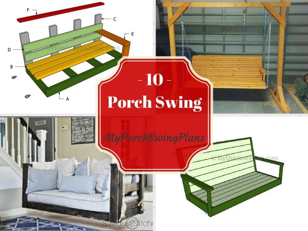 10 Free Porch Swing Plans