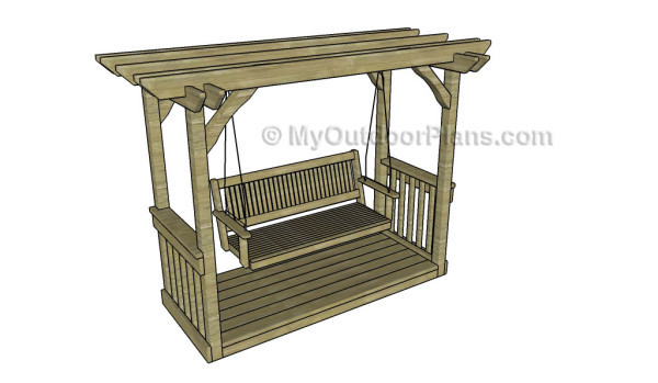 7 Free Garden Swing Plans Free Porch Swing Plans How To Build A