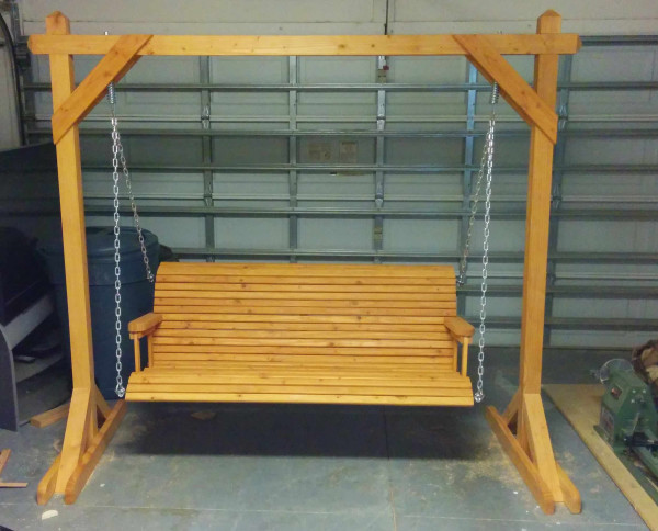 10 free porch swing plans free porch swing plans how for Building a wooden swing