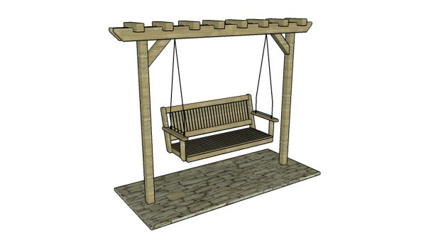 7 Free Garden Swing Plans | Free Porch Swing Plans - How to build a ...