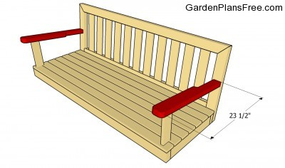 Simple swing bench