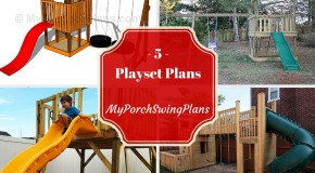 5 Free Outdoor Playset Plans