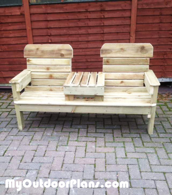 DIY-Patio-Double-Chair-Bench
