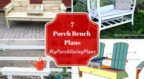 7 Porch Bench Plans