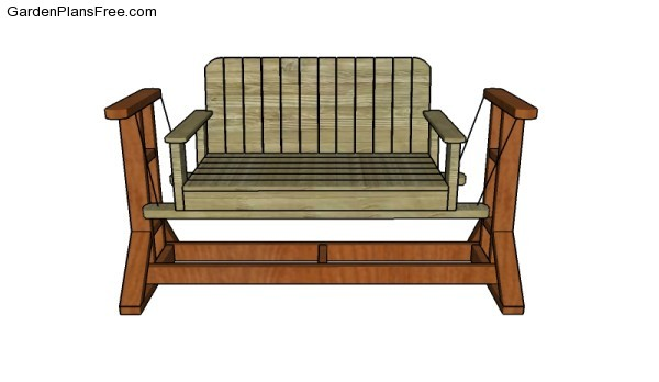 How To Make A Swing Bench 28 Images Garden Swing Bench