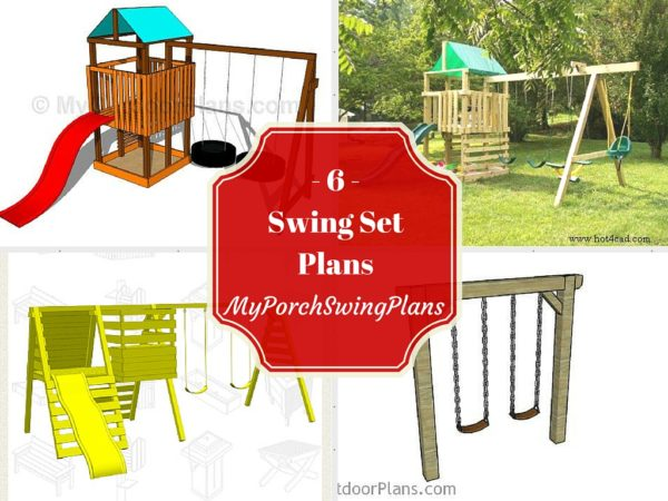 Free Swing Set Plans | Free Porch Swing Plans - How to build a ...