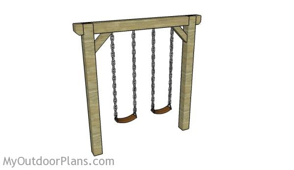 6 Free Swing Set Plans Free Porch Swing Plans How To